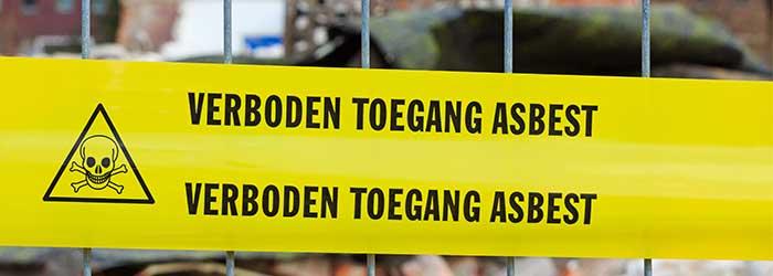 gevaren asbest